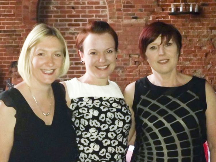 Flat Friends trustee Sarah Coombes before her cancer diagnosis and bilateral mastectomy